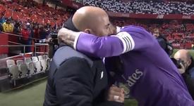 Ramos le dio las gracias a Sampaoli. ElDíaDespués