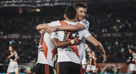 River es el nuevo líder de la Superliga Argentina. EFE