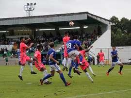El Lugo logró remontar al Oviedo. Twitter/CDeportivoLugo