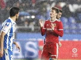 El Zaragoza sucumbió ante el Dépor. LaLiga