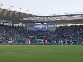 El Leeds empató en el 102' de partido. Twitter/LUFC