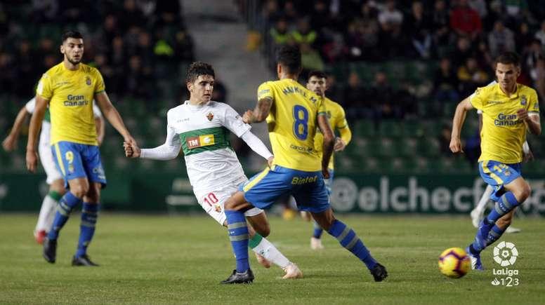 Gonzalo Villar seguirá hasta final de temporada en el Elche. LaLiga