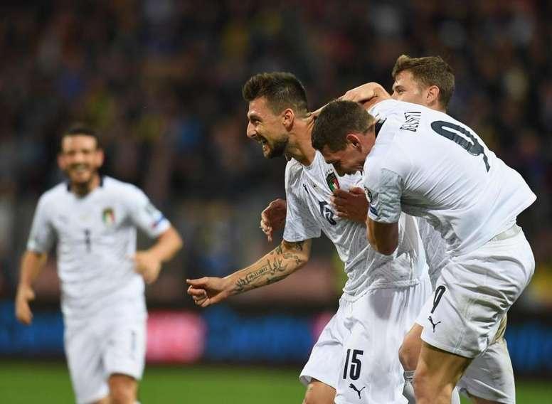 L'Italia vince 9-1 contro l'Armenia ed entra nella storia. Twitter/Italia