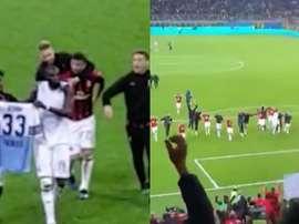 Acerbi et Bakayoko ont enflammé le Milan-Lazio. Twitter/gago_mario