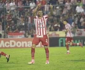 Acevedo hizo el gol del empate 'in extremis'. Twitter/CASMOficial