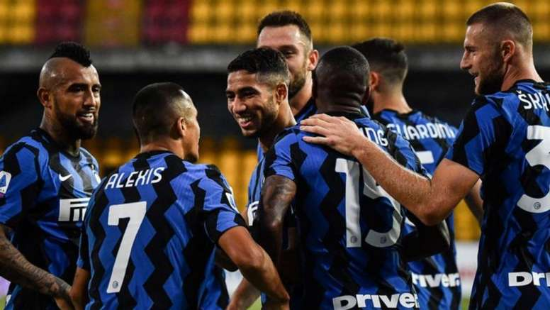 El Inter piensa en Vanheusden. AFP