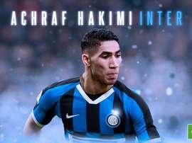 Hakimi è un giocatore dell'Inter. BeSoccer