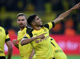 Achraf Hakimi parti pour... rester à Dortmund ? afp