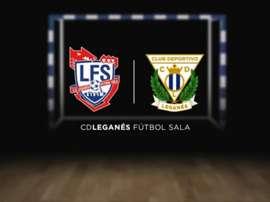 El Leganés suma fuerzas con el fútbol sala. Twitter/CDLeganes