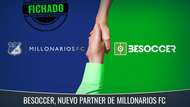 BeSoccer y Millonarios firmaron un acuerdo histórico. BeSoccer