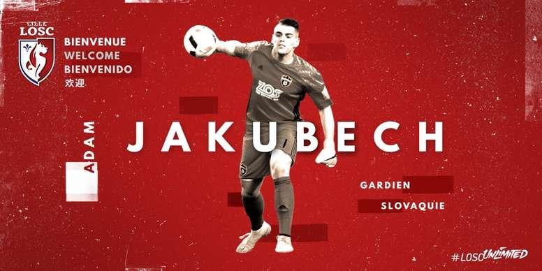 El internacional por Eslovaquia ya es jugador oficial del Lille. Lille