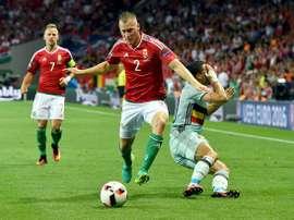 Adam Lang disputó la pasada Eurocopa de Francia con la Selección de Hungría. UEFA