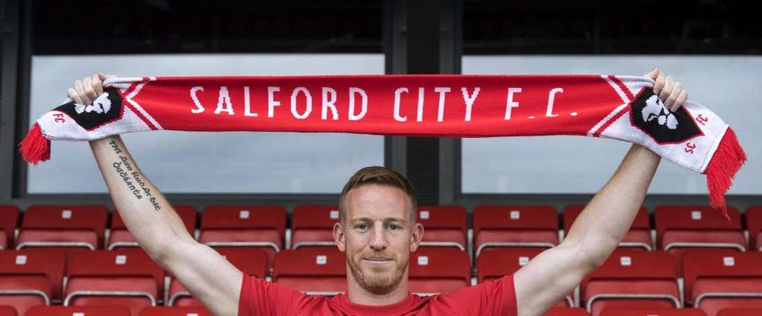 Rooney sinsists the move was about a 'new challenge'. SalfordCityFC