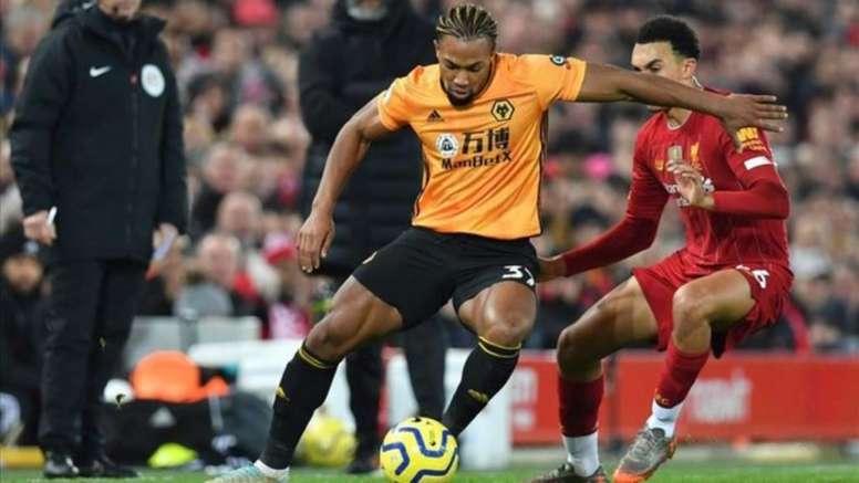 Traoré jugó lesionado ante el Sheffield United. AFP