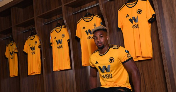 Traore has joined Wolves on a five-year deal. Wolves