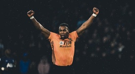 Adama Traore, praised by Mourinho. Twitter/WolvesEspanol