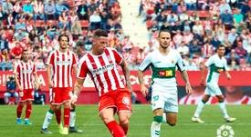 Iván Sánchez (d) estrenó el marcador en el 5'. LaLiga