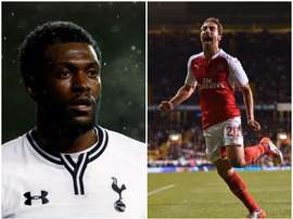 Adebayor (L) and Flamini look set to join Caykur Rizespor. BeSoccer