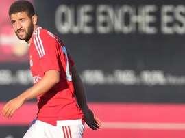 Adel Taarabt sous le maillot de Benfica Lisbonne. Twitter