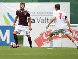 Ljajic no terminó el partido ante el Inter, su ex equipo, y no por lesión o expulsión. TorinoFC