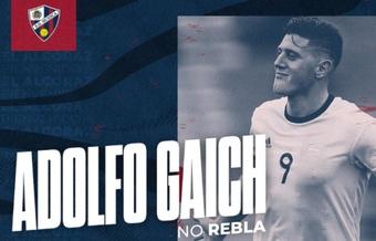 El argentino Adolfo Gaich jugará cedido en la SD Huesca. Twitter/SDHuesca
