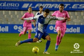 El Sabadell sumó tres puntos de oro. LaLiga