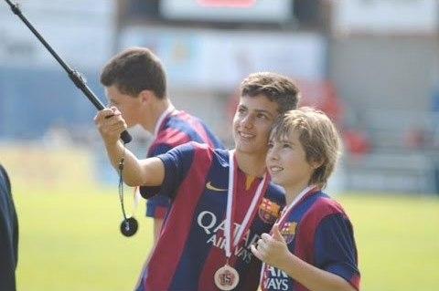 El juvenil del Barcelona también se marchará. Captura