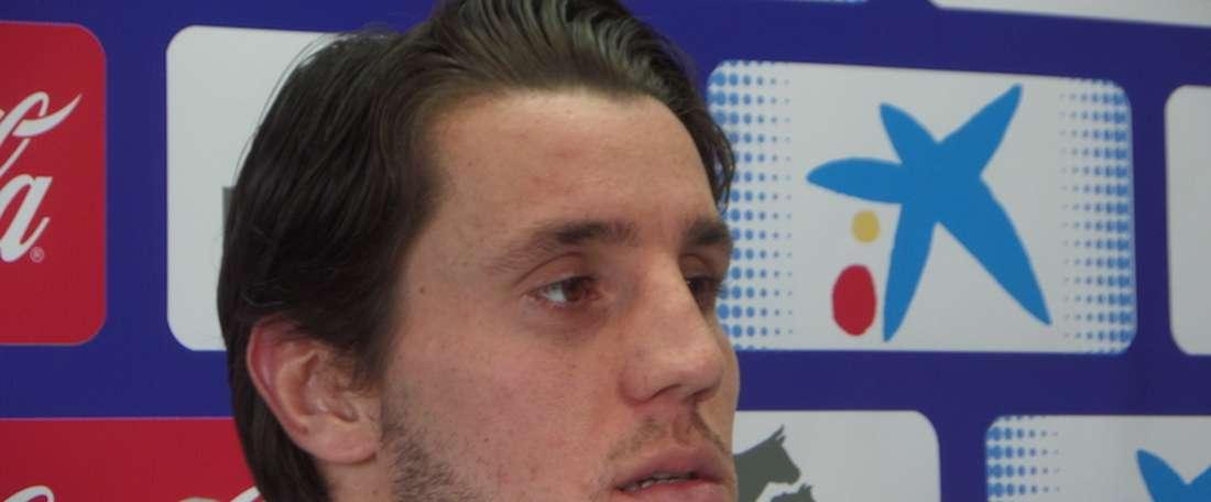 Adrián Cruz jugará la próxima temporada en la Nueva Condomina. NavarraSport