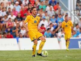 Adrián Jiménez seguirá jugando en el Toledo. Twitter