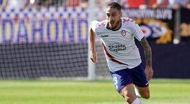 Adrián Jiménez sufrió una grave lesión. Twitter/RMajadahonda
