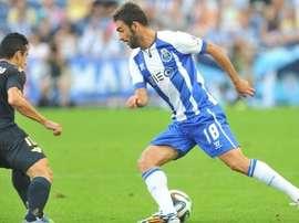 Adrián López a retrouvé les joies d'une titularisation avec Porto. FCPorto
