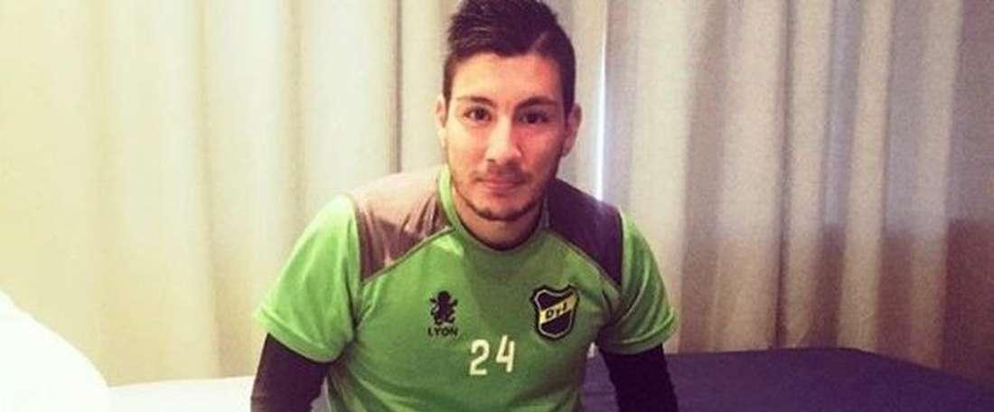 Adrián Martínez, nuevo jugador de Defensa y Justicia. Twitter