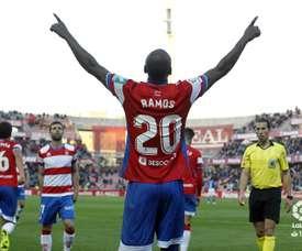 Adrián Ramos marcó el gol de la victoria. LaLiga