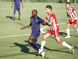 Azeez pone el gol en el 'redebut' de Machís. Twitter/GranadaCF