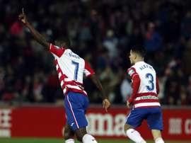 El Granada ganó 2-1, con facilidades. LaLiga