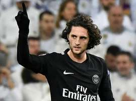 Rabiot, one of Eriksen's possible replacements. EFE
