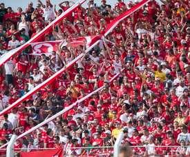 Internacional de Porto Alegre no pudo conseguir los tres puntos. SCInternacional