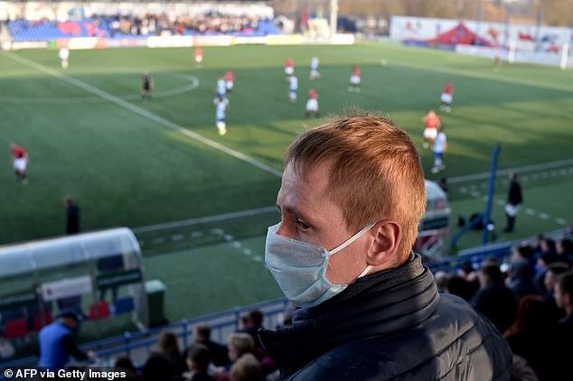 OMS pediu novamente ao governo da Bielorrússia que pare a competição. AFP