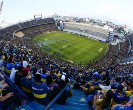 Boca Juniors v rivals River Plate produces an incredible atmosphere. EFE