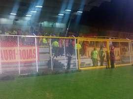 Pereira no pudo pasar del empate ante Real Santander. DeportivoPereira