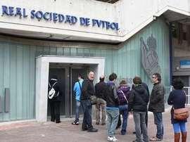 La Real Sociedad presenta las novedades para la próxima temporada en los filiales. EFE/Archivo