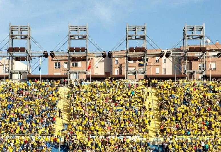 El partido entre Las Palmas y el Huesca podría suspenderse. UDLP_Oficial