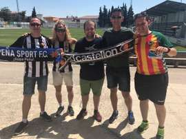 El gesto de deportividad del Peña Sport con el Castellón se ha vuelto viral. Twitter/Pepote43
