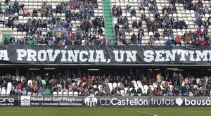 Castalia formó parte de las celebraciones. CDCastellon/Archivo