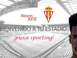 Afif, nuevo jugador del Sporting. RealSporting