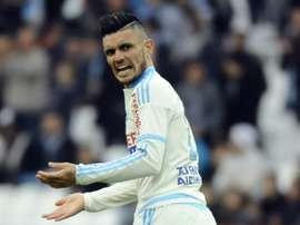 Cabella, autor del gol. AFP