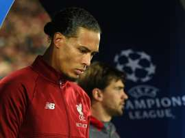 Van Dijk veut être une légende de Liverpool. AFP