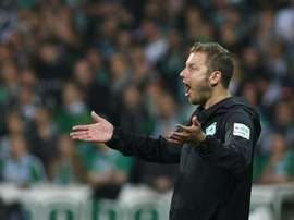 Florian Kohfeldt, Bremen manager, can rely on Pizarro.