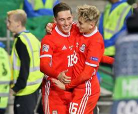 Gales logró una victoria importantísima ante Irlanda. AFP