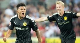 Manchester United contacte l'agent de Jadon Sancho. AFP